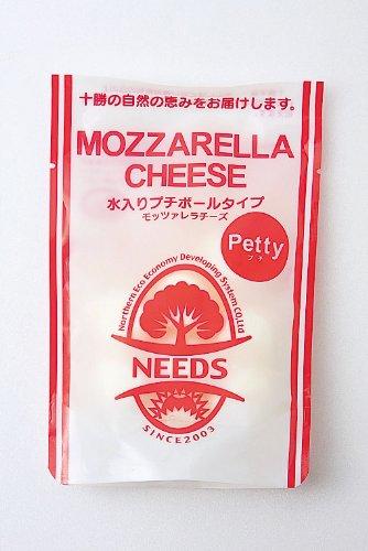【十勝幕別チーズ工房】モッツァレラチーズ/水入プチボールタイプ80g 【産地NEEDS】