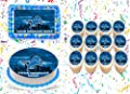 """Detroit Lions Cake Topper Edible Image Personalized Cupcakes Frosting Sugar Sheet (2"""" Cupcakes (12))"""
