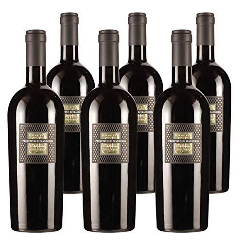 Cantine San Marzano 2015 Vorteilspaket Primitivo di Manduria Sessantanni Old Vines DOP