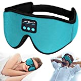 Sleep Headphones,3D Sleep Mask Bluetooth 5.0 Wireless Sleeping Headphones Built-in HD Ultra Soft Thin Speakers Microphones,Perfect for Side Sleeper Airplane,Personalised Gifts Men Women Mom Dad Unisex