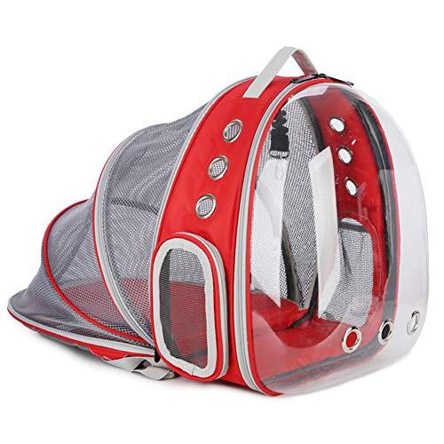 Mochila portadora de mascotas,transpirable/transparente/Cápsula espacial/Aprobado por la aerolínea/Mochila para llevar gatos,para cachorro de gato para viajar al aire libre Actividad
