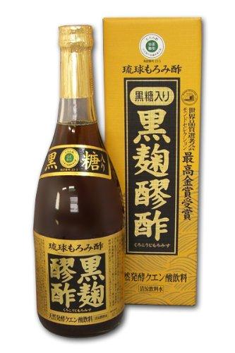 ヘリオス酒造『黒麹醪酢・黒糖入り』