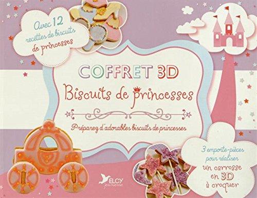 Coffret 3D biscuits de princesses (cuisine pour les enfants)