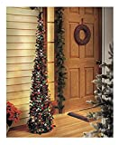 GetSet2Save 65 Lighted Christmas Trees (Green/Red)