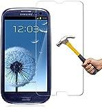 Panzerglas für Samsung Galaxy S3 S3 NEO Schutzglas Panzerfolie Bildschirmschutzglas Tempered Glass Echt Panzer Glas Harte Folie Schutz Schutzglas Verb&glas Glasfolie Schutzfolie 9H Festigkeit Bildschirmglas