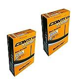 2 tubos internos Continental Race 28 de válvulas presta de bicicleta de 80 milímetros, tamaños: 700 x 20 milímetros. 25 milímetros