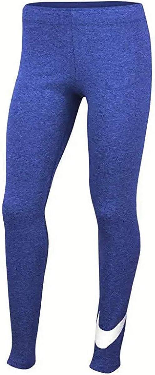 Nike Little Girls Swoosh Leggings - Purple Comet