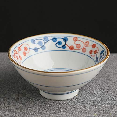 Zvivi Cuencos, Cuencos de cerámica Infantil Pintados a Mano, pequeños tazones para Comer, vajilla de cerámica, tazones de Trompeta (2 Piezas)