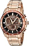 Citizen Men's Eco-Drive Perpetual Chrono Atomic Timekeeping Rose...