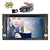 Eincar XM-2DTSBN6216 freie Kamera & 8GB Doppel-DIN-GPS-Auto-Stereo / in Dash-Radio Stereo / GPS-Nav+