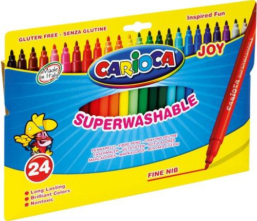 Carioca 40532 Pennarelli Joy Fini Confezione 24pz