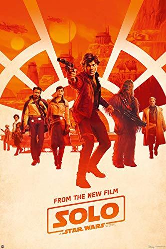 Star Wars Póster Solo Story - Personajes [One Sheet] (61cm x 91,5cm) + 1 póster Sorpresa de Regalo