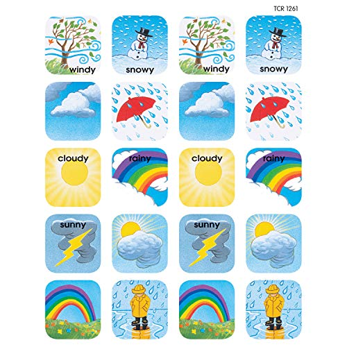 Teacher Created Resources Weather Stickers, Multi Color (1261)