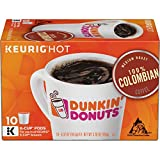 Dunkin' Donuts Coffee, Medium Roast 100% Colombian Coffee, K Cup Pods for Keurig Coffee Makers, 60 Count