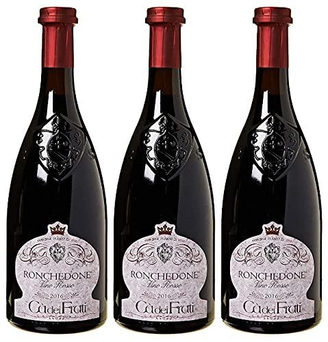 Ronchedone Vino Rosso - Cà dei Frati - Confezione da 3 bottiglie