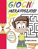 GIOCHI MERAVIGLIOSI: Quaderno per bambini con bellissimi animali da colorare e tanti giochi per...