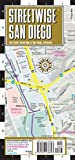 Streetwise San Diego Map: Laminated City Center Map of San Diego, California (Michelin Streetwise Maps)