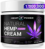 Hemp Power Pain Relief Cream -  Relieves Muscle, Joint Pain, Lower Back Pain, Knees, and Fingers - Inflammation - Hemp Extract Remedy - Hemp Oil with MSM - Arnica 2fl oz