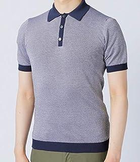 ZANONE(ザノーネ) シャツ メンズ COTTON ニットポロシャツ 81M023-Z2852 [並行輸入品]