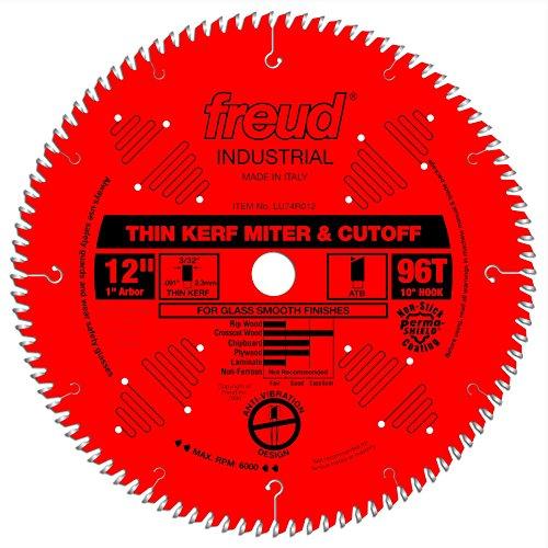 Freud 12' x 96T Thin Kerf Ultimate Cut-Off Blade (LU74R012)