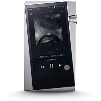 Astell&Kern A&Norma SR25 Portable High Resolution Audio Player, Moon Silver