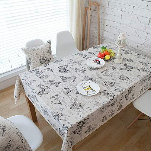 N/X Dekorative Tischdecke Leinen Tischdecke Rechteckige Tischdecken EsstischabdeckungKaminsims mesaTablecloth