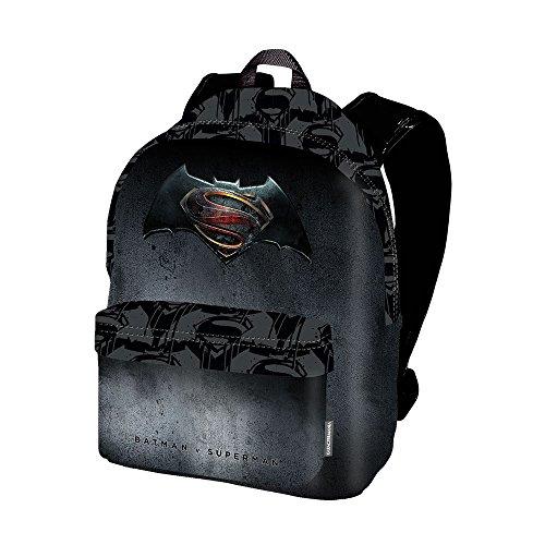 Karactermania Batman V. Superman Justice Mochila Tipo Casual, 42 cm, 21 litros, Negro