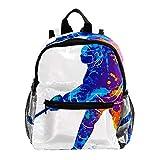School Backpack for Kids Children Casual Daypack Book Bag Rucksack Hockey player
