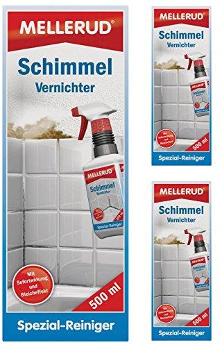 Mellerud 2001000097 Schimmel Vernichter chlorhaltig 3 x 500 ml