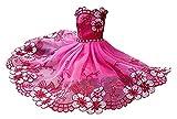 Desk Chairs Vestidos de Boda de 2pc Vestidos de muñeca Princesa Ropa de Fiesta para muñeca muñeca muñeca (Color : 2pcs Pink)