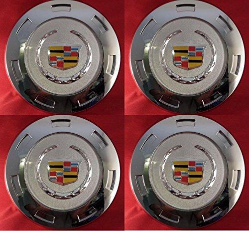 "4pcs. 2007-2014 Cadillac Escalade Colored Crest 22"" Wheel Center Cap 9596649"