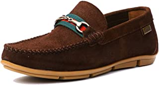 HITZ Brown Loafers for Men