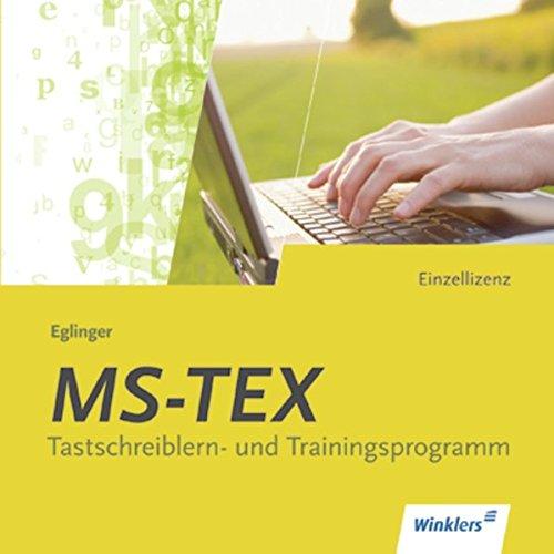 MS-TEX Version 16.0, 1 CD-ROM, CD-ROMTastschreiblern- und Trainingsprogramm. Für Windows ab 95