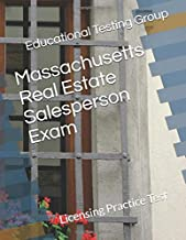Massachusetts Real Estate Salesperson Exam: Licensing Practice Test
