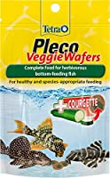 Zucchini are rich in minerals for improved well-being and vitality With essential fibres for easy digestion Due to the solid consistency the wafers do not cloud the water Age range description: All Life Stages. Item display weight: 42.0 grams.