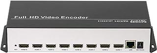 URayTech コストパフォーマンス 8チャンネル MPEG4 H.264 1080P 1080i HDMI IP ビデオストリーミングエンコーダー ライブブロードキャスト RTMP エンコーダー IPTV エンコーダー HDMI - RTS...