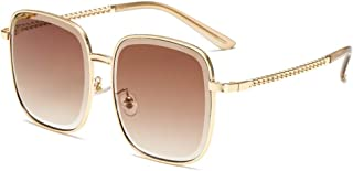 DishyKooker Fashionable Women Chain Legs Sunglasses Gradual Lens Sunglasses