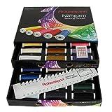 Ackermann 36 Farben x 200m UNIVERSAL 120 NÄHGARN (Allesnäher) in handlicher Box UNIVERSAL 120 Nähgarn-Box. Nähgarnsortiment, Nähgarn-Set, Nähgarne, Nähgarn-Sortiment-Set, Qualitätsgarn