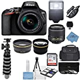 Nikon D3500 24.2MP DSLR Camera + AF-P DX 18-55mm VR...