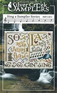 Sing A Sampler 3 Cross Stitch Chart and Free Embellishment