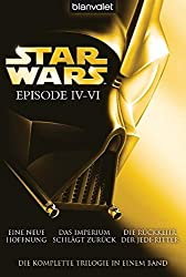 Star Wars Bücher Episode IV bis VI