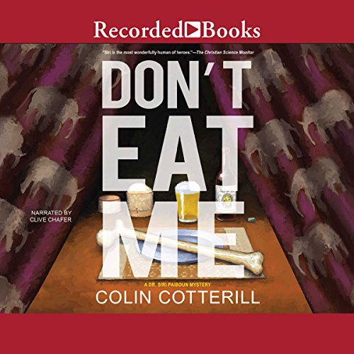 Don't Eat Me audiobook cover art