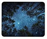 Mouse Pad Starry Sky Customized Mousepad Non-Slip Rubber Base Mouse Pads for Computers Laptop Office Desk