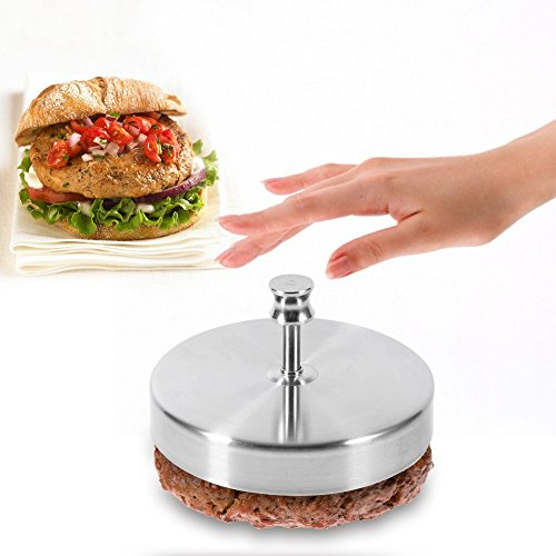 Yosoo Stampo da Fare Hamburger in Acciaio Inossidabile, Attrezzo di Cucina