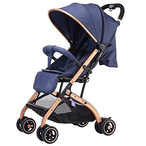 Ligera Cochecito de Bebé Plegable silla de paseo ultra compacto Sillita compacta...