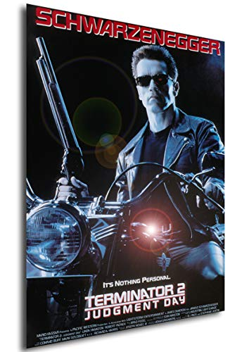 Instabuy Poster Terminator 2 - Judgment Day (Tag der Abrechnung) - Theaterplakat- A3 (42x30 cm)