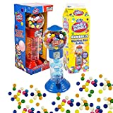 Spiral Fun Gumball Bank Machine, Includes 270 Dubble Bubble Gumballs Refills, Kosher OU