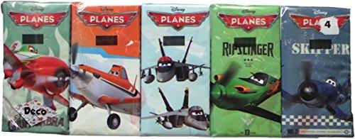 Disney Planes Taschentücher - Fliegerträume - Motivaufdruck - 10 x 9 Stück