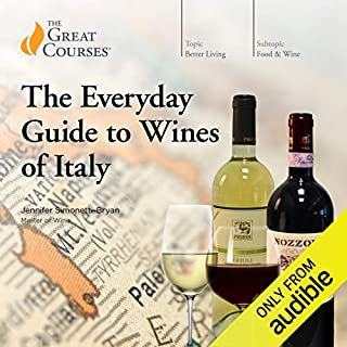 The Everyday Guide to Wines of Italy audiobook cover art