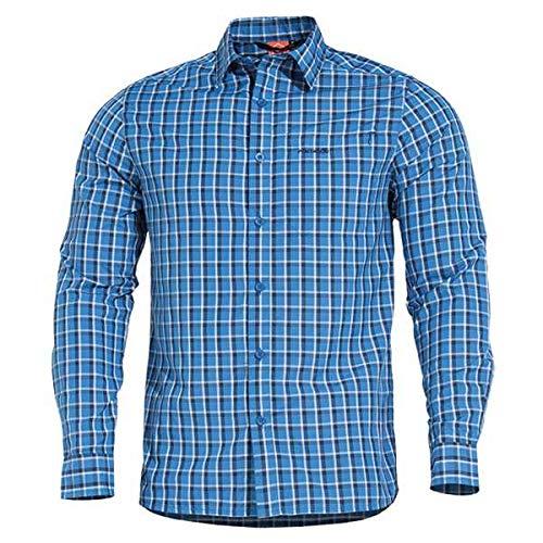Pentagon Snoop T-Shirt manches longues Bleu, XL, Bleu